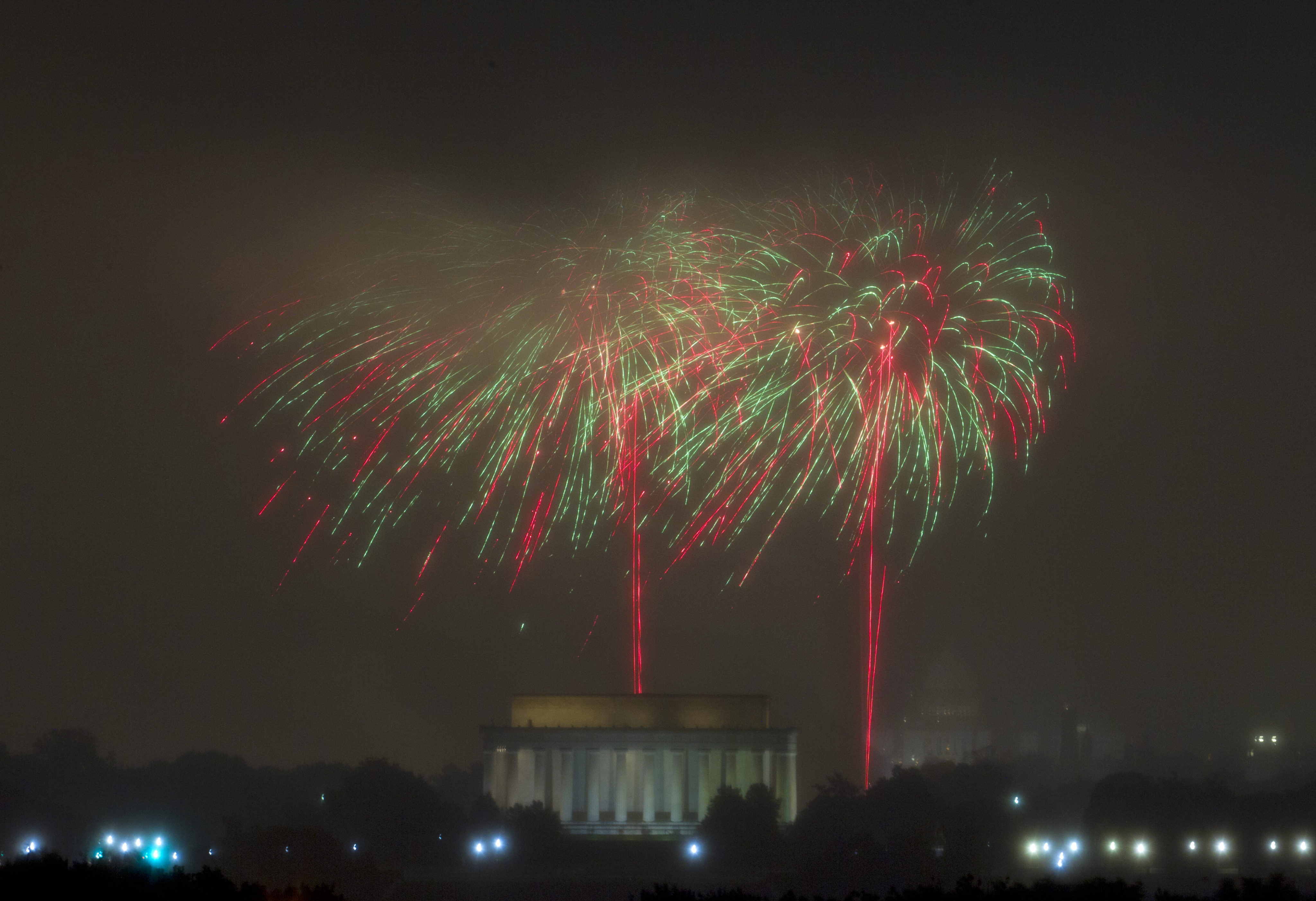 Best Places To Watch Dc Fireworks On Fourth Of July Map