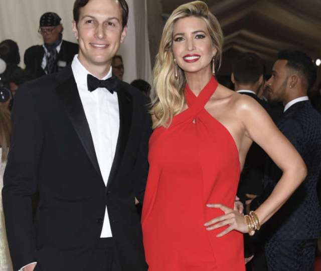 File In This May 2 2016 File Photo Jared Kushner Left And Ivanka Trump Arrive At The Metropolitan Museum Of Art Costume Institute Benefit Gala In