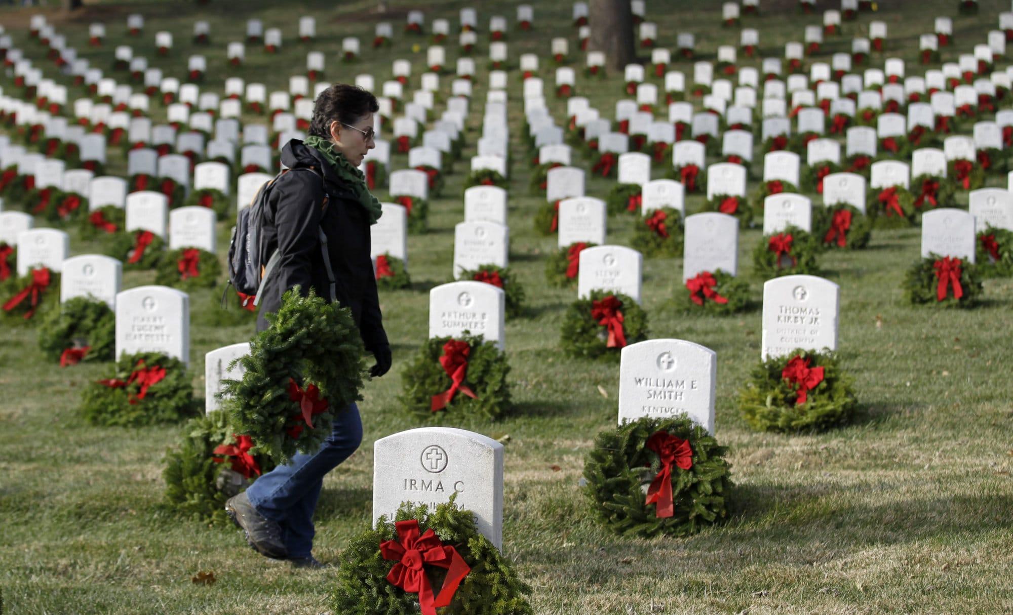 Arlington National Cemetery Seeks Volunteers To Remove
