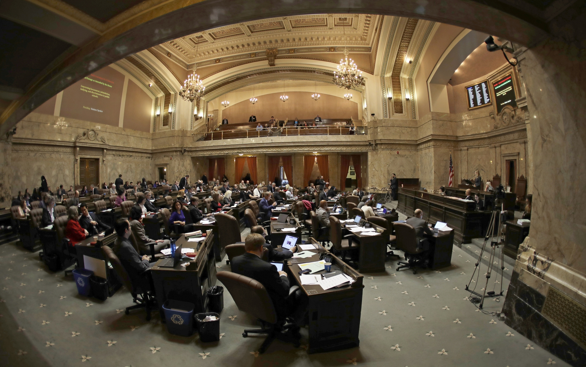 Court Washington State Lawmakers Subject To Records Act