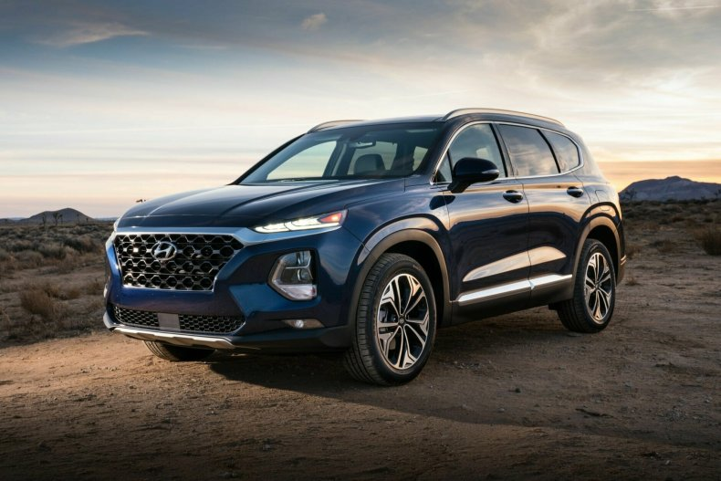 <p><strong>Best SUV for teens $35,000 to $40,000:</strong> The Hyundai Santa Fe</p>