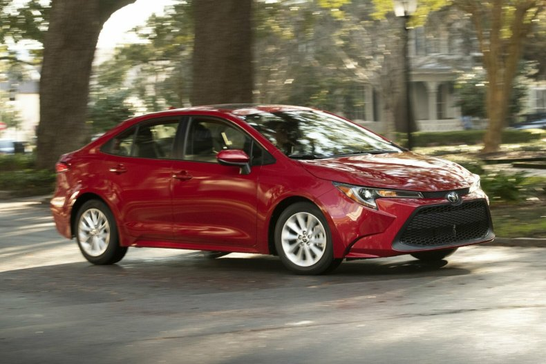 "<p><strong>The new best car for teens between $20,000 and $25,000:</strong> The Toyota Corolla</p> <p>""This is another classic first car, because it is so reliable,&#8221; Page Deaton said. &#8220;Very good crash test scores; has all of the safety features.""</p> <p>It may be unassuming, but that's part of the appeal: ""You really don&#8217;t want to give your teen a car that&#8217;s going to tempt them to drive beyond their skills. The Corolla is great because it&#8217;s safe, comfortable, reliable transportation, that&#8217;s not going to be constantly saying to a new driver, 'Hey, go a little bit faster.'""</p>"