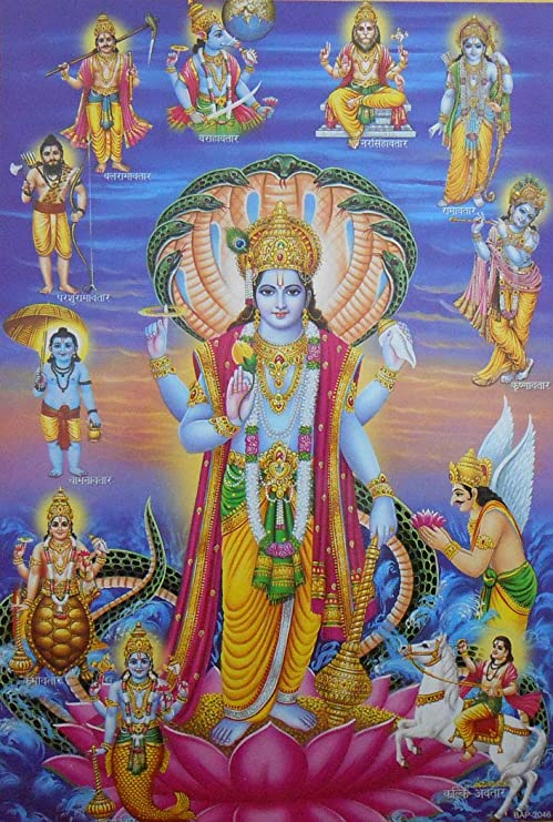 Lord vishnu images for whatsapp dp