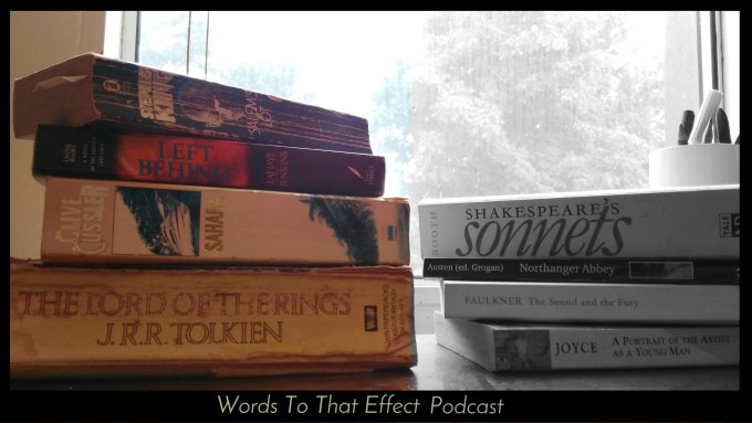 Words To That Effect Ep4 - Popular Literature (Books)