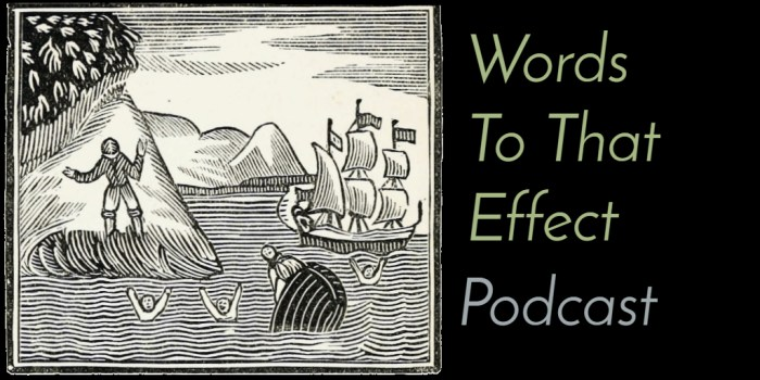 Listen on Apple Podcasts (Words To That Effect Ep10 - Robinsonade Robinson Crusoe)) Listen on Apple Podcasts (Words To That Effect Ep10 - Robinsonade Robinson Crusoe)