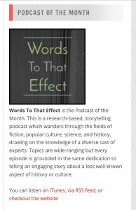 Words To That Effect Reviews (Podcastland)