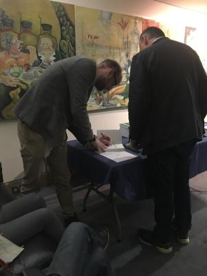 Words To That Effect Live Show - Book Signing