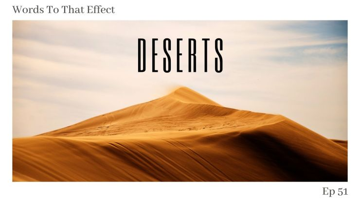 Desert fiction - WTTE 51