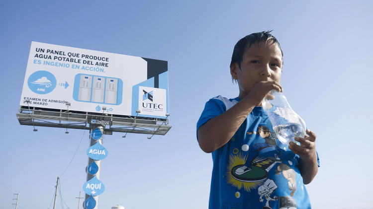 05 -Drinkable Water Billboard