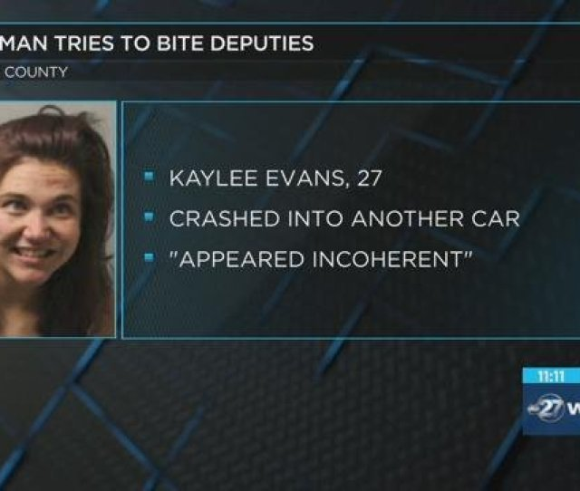 Police Dui Suspect Crashes Into Car Tries To Bite Officer News Wtxl Com