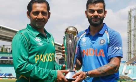 Pak v India Champions trophy final Sarfraz & Kohli