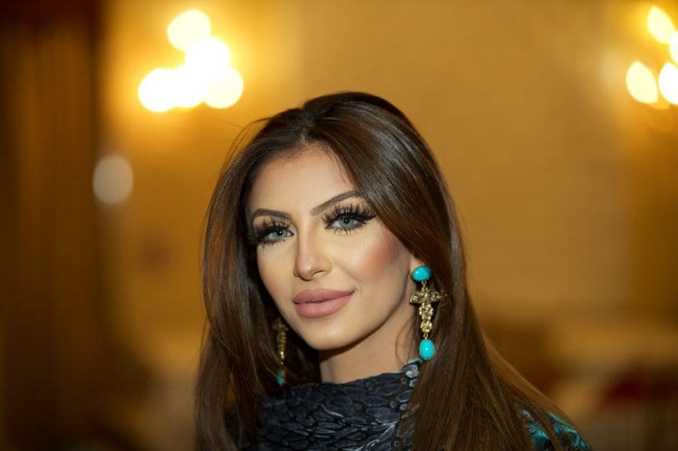 Faryal Makhdoom is virtually unrecognisable from the time the pair gotengaged
