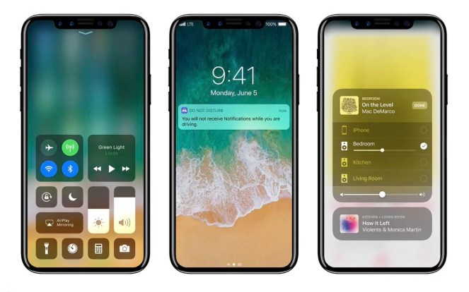 Iphone 8 and iPhone X new pictures