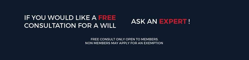 Get A free Consultation for your Last Will & Testament - Do not be fooled by a cheap option that leaves your benefactors open to so much inheritance taxation after your death