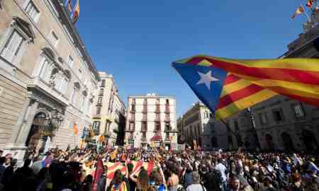 The Catalan People and their struggle for justice is the lead story in Yvonne Ridleys - The Week so Far