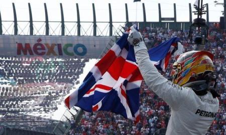 Lewis Hamilton wins his fourth FI title in Mexico 2017