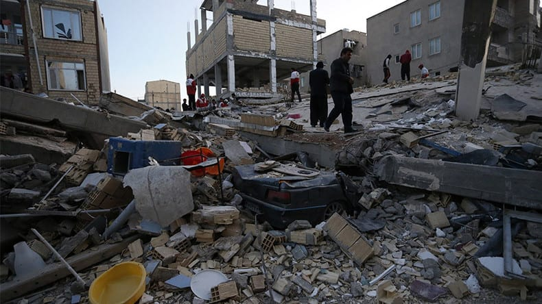 Iran & Iraq Earthquake