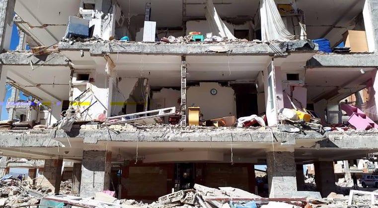A 7.3 MAGNITUDE EARTHQUAKE HAS STRUCK IN IRAQ AND IRAN