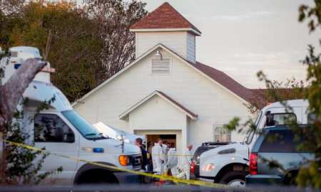 A mass shooting at the First Baptist Church in Sutherland Springs, Texas, on Sunday Nov. 5, 2017