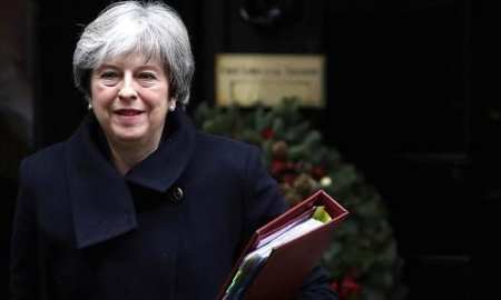 Prime Minister Theresa May's government was defeated