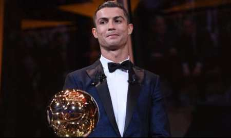 Real Madrid forward Cristiano Ronaldo beat Barcelona's Lionel Messi to win the Ballon d'Or award for the fifth time