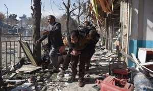 The ambulance bomb by the taliban