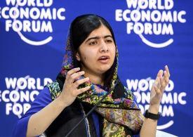 'Women need to change the world - Don't rely on Men like Trump' - Malala Yousafzai