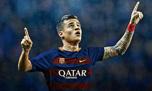Brazil international Coutinho has agreed a five-and-a-half year contract with Barcelona FC