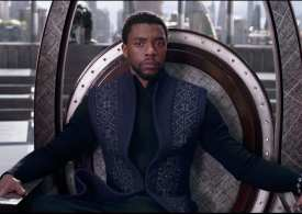 All Hail the King! 'Black Panther' record-breaking box office weekend