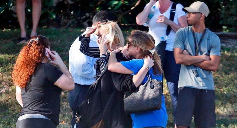 17 Killed in Florida Public school shooting - United States as gun crime debate reopens