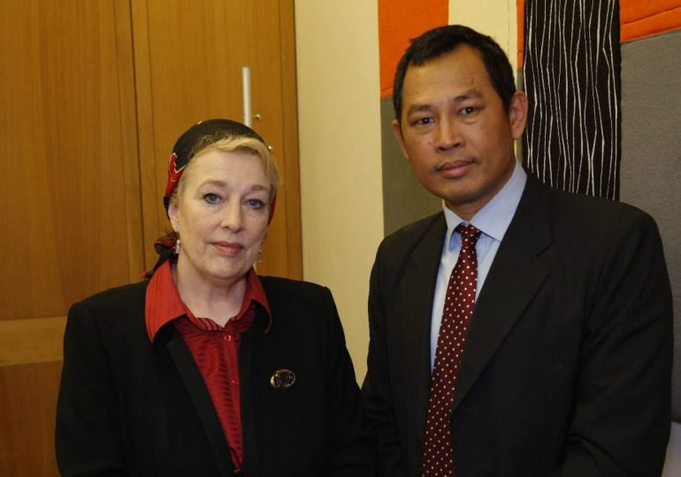 The Rohingya Report presented by WTX News Diplomatic correspondent Yvonne Ridley and Dr Zarni