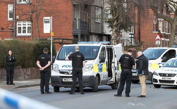 Manchester Police officer seriously injured in vicious sword attack