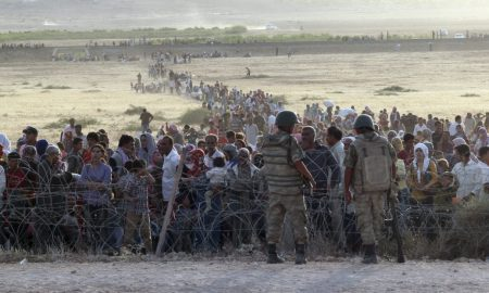 Syrians in Turkey a refugee crisis