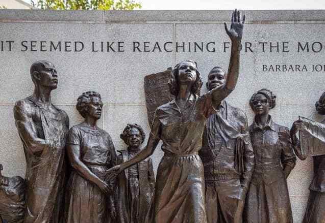 The 60's in America - where the civil rights movement began