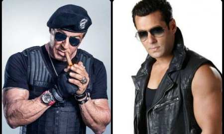 Sylvester-Stallone-and Salman Khan are social media friends
