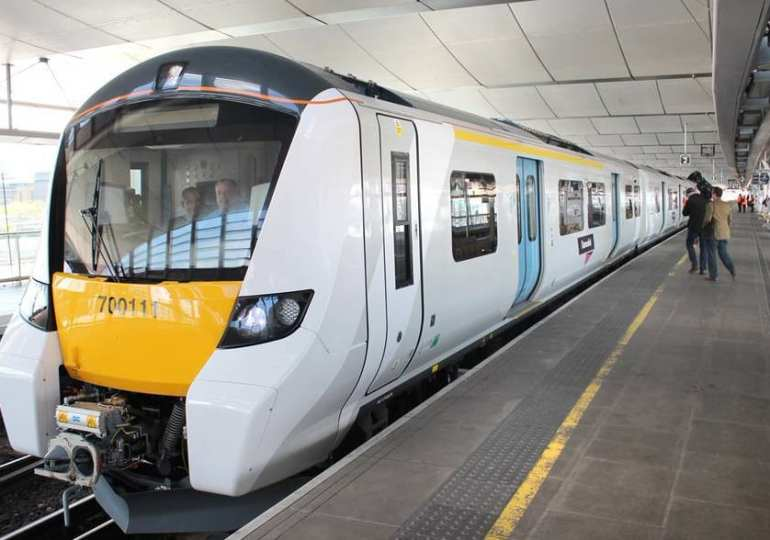 London's first 'self-drive' train launched on busy London route