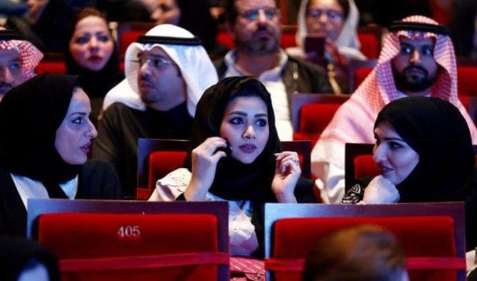 Ending decades-old ban, Saudi cinema screens 'Black Panther' on launch