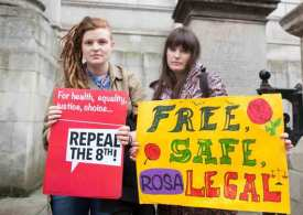 Irish abortion referendum puts May between a rock and a hard place