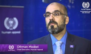 Othman Moqbel, the CEO of Human Appeal has been sacked following gross misconduct charges