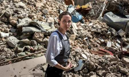 Angelina Jolie Mosul Iraq - One Year on after 'Liberation'