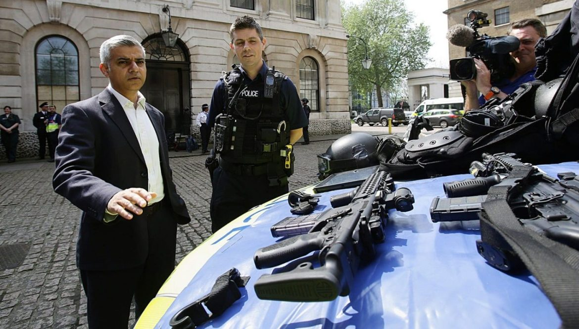 Sadiq Khan a Muslim Pakistani Mayor of London has often clashed with the Trump administration and US security services