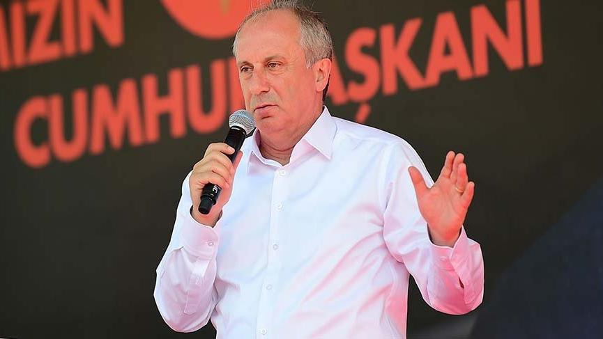 The main beneficiary is Muharrem Ince The presidential candidate