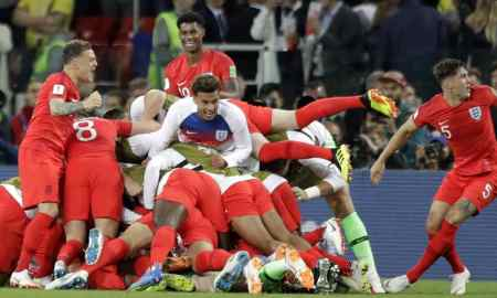 FIfa world cup 2018 - England beat Columbia to go through the quarters