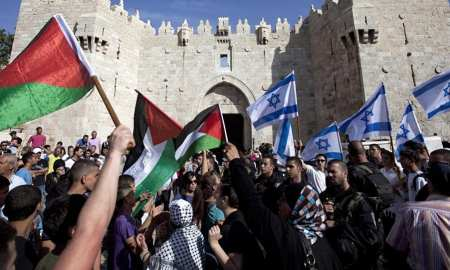 The Israeli-Palestinian conflict remains deadlocked partly because the United States