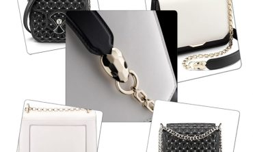 Bulgari Winter luxurious leather Collection - in Geometric and abstract forms