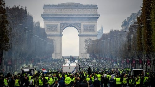 Paris set to be rocked by Yellow Vests on New Years Eve