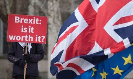 The British parliament holds a historic vote Tuesday on the Brexit deal agreed with the EU and all sides are bracing for turmoil
