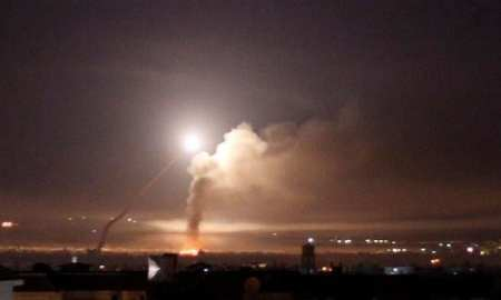 Israeli warplanes fired a number of missiles toward the Damascus