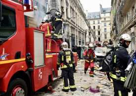 Breaking News: #Paris hit by a massive gas explosion