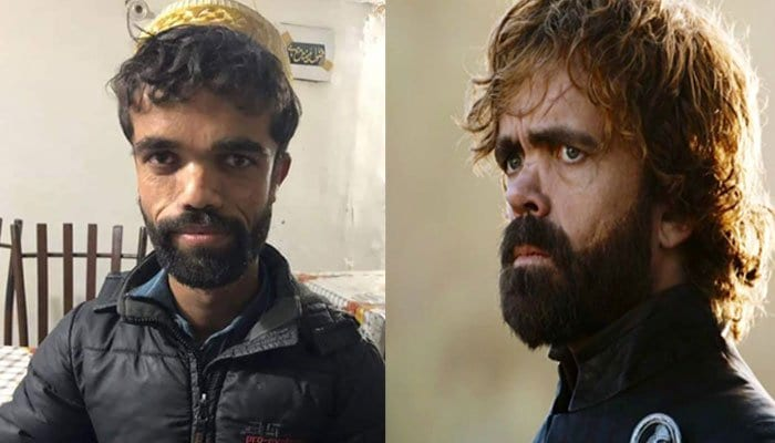 A picture of a Pakistani man bearing uncanny resemblance to hit HBO series Game of Thrones' character Tyrion Lannister has gone viral on social media